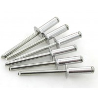 Pop Rivets Half Stainless Steel (Sold Per 100)