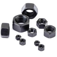 Hex Nuts Black M12 - M30 (Sold Per Each)
