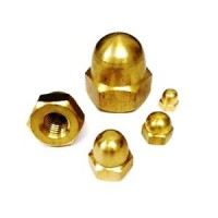 Dome Nuts Brass M12 (Sold Per Each)