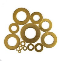 Brass Flat Washers M 3 - M10 (Sold Per 100)