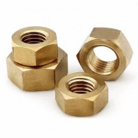 Hex Nuts Brass M12 (Sold Per Each)
