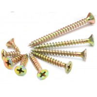 Countersunk Pozi Chipboard Screws (Sold Per 100)