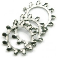 External Star Zinc Washers