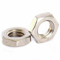 Hex 1/2 Nuts Stainless Steel M12 - M20 (Sold Per 100)