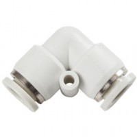 Tube To Tube 90 Degree Elbow White