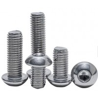 Stainless Steel Button Head Cap Screw M 8 (Sold Per 100)