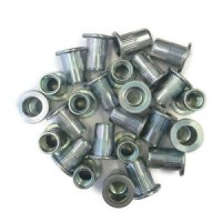 Small Flange Rivet Nuts Zinc M 4 - M10 (Sold Per 100)