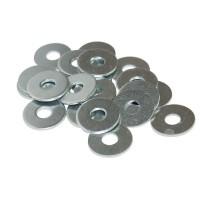 Zinc Flat Washers (Sold Per 100)
