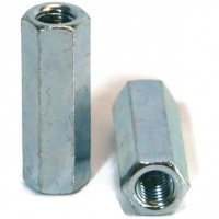 Coupling Nuts Zinc M12 - M20 (Sold Per Each)