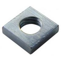 Square Press Nuts Zinc M 3 - M 6 (Sold Per 100)
